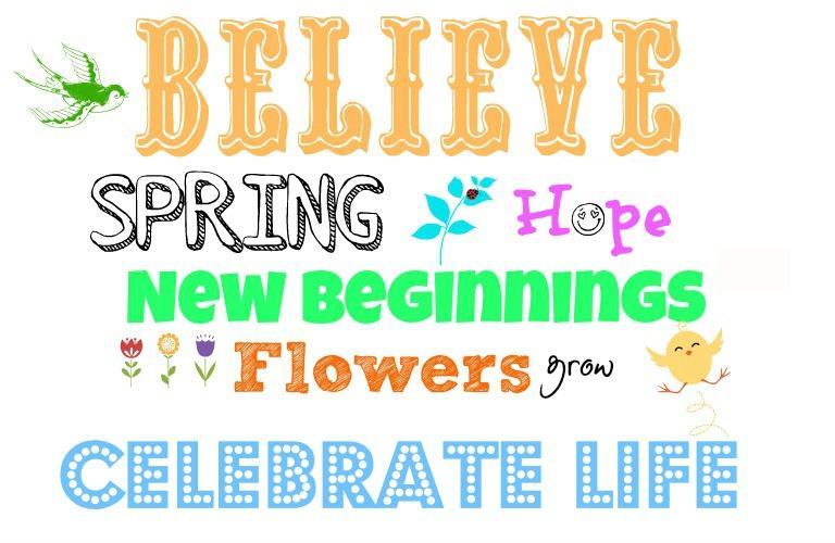 Easter spring printables