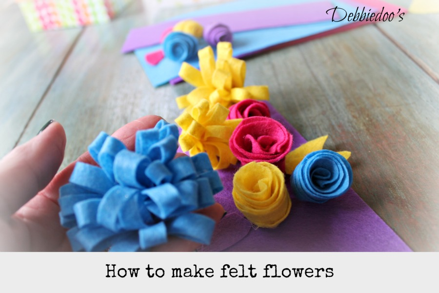 How-to-make-felt-flowers Learn how to make felt flowers