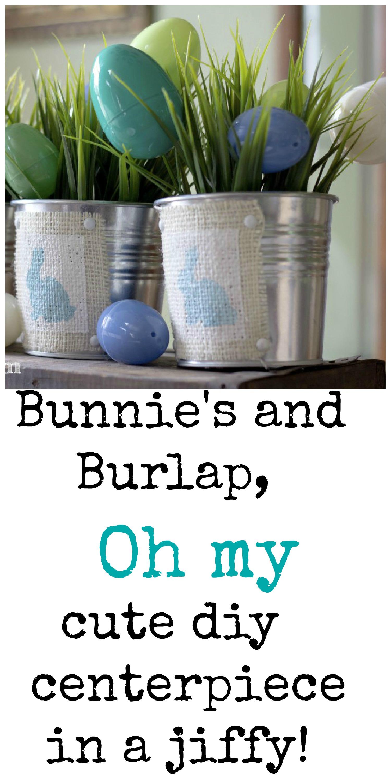 bunnies and burlap