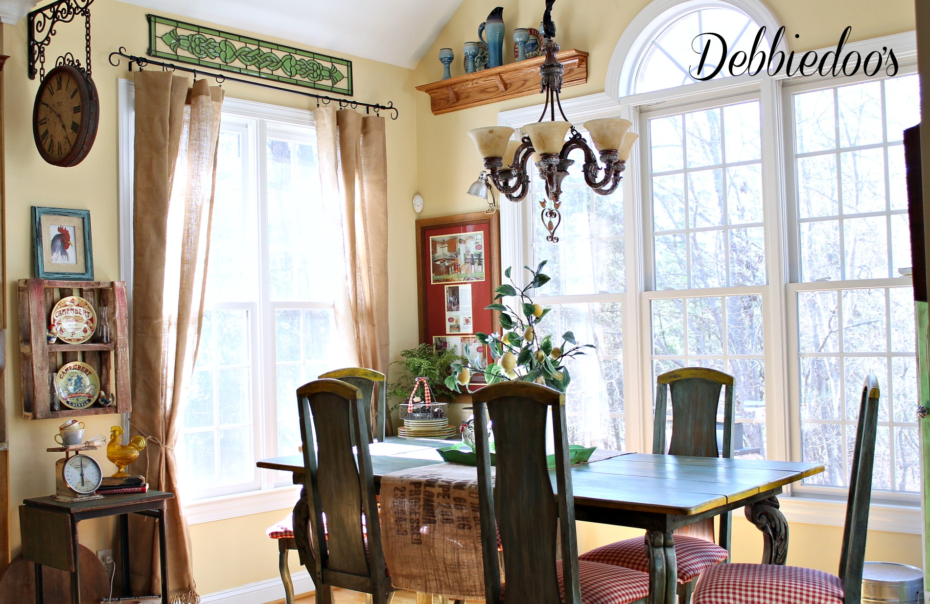 french country kitchen style freshened up debbiedoos kitchen french country style 007