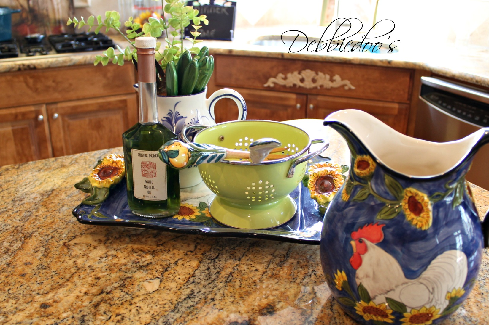 Freshening up the kitchen for Spring and Summer