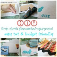 Learn how to make your own placemats