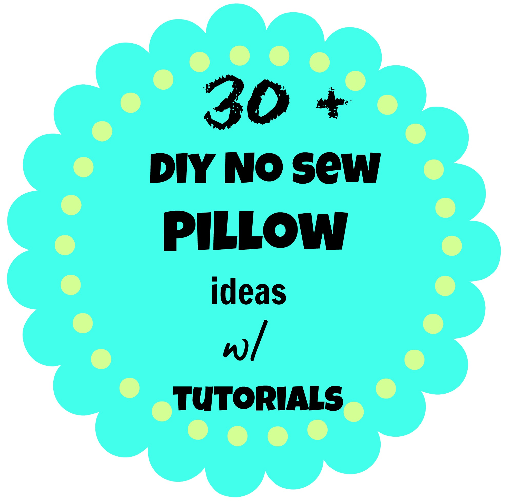 diy no sew pillow ideas