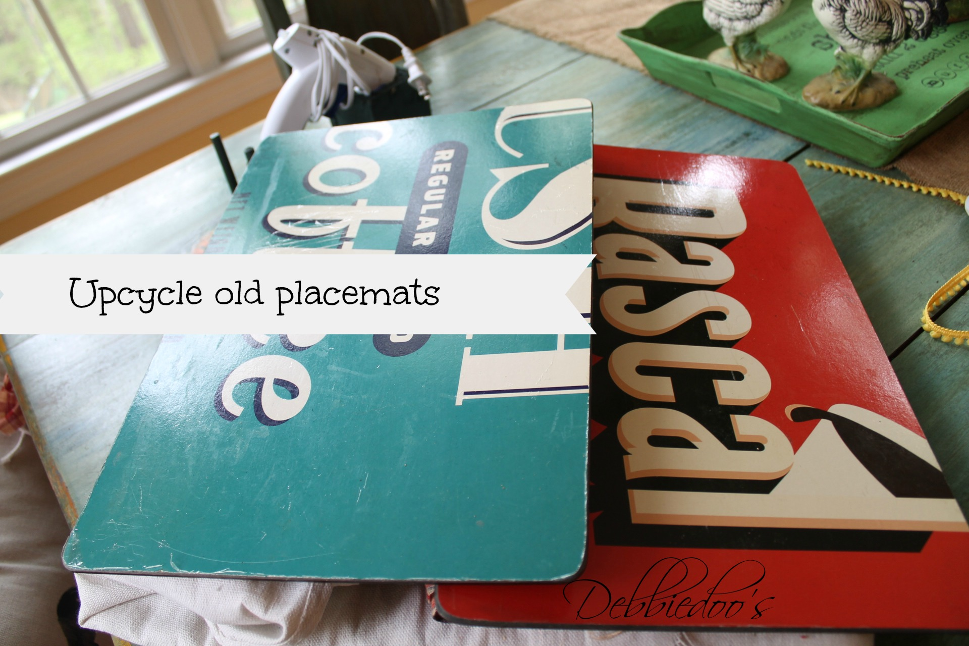 diy placemat and placeset holder 002