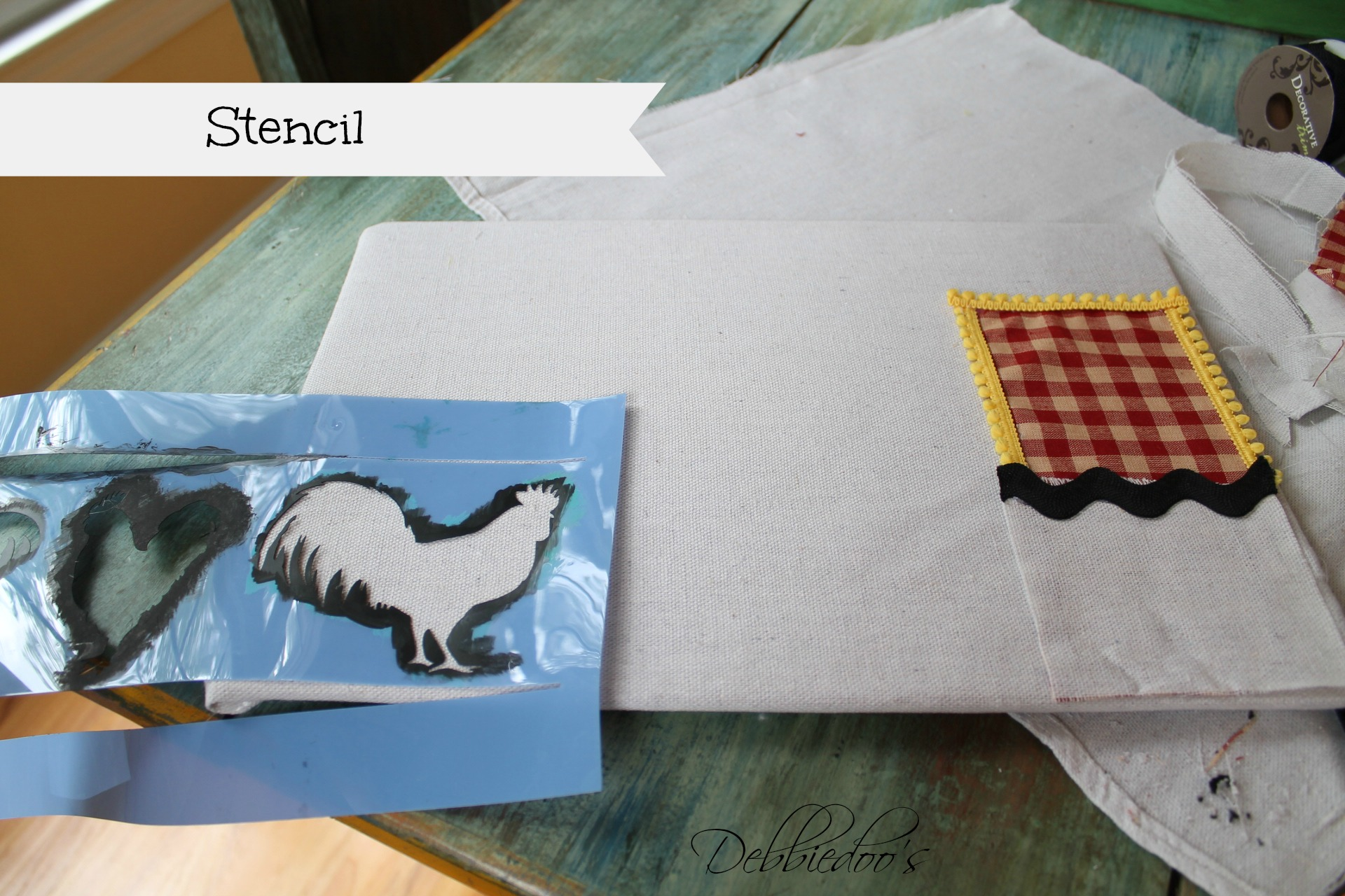 diy placemat and placeset holder 009