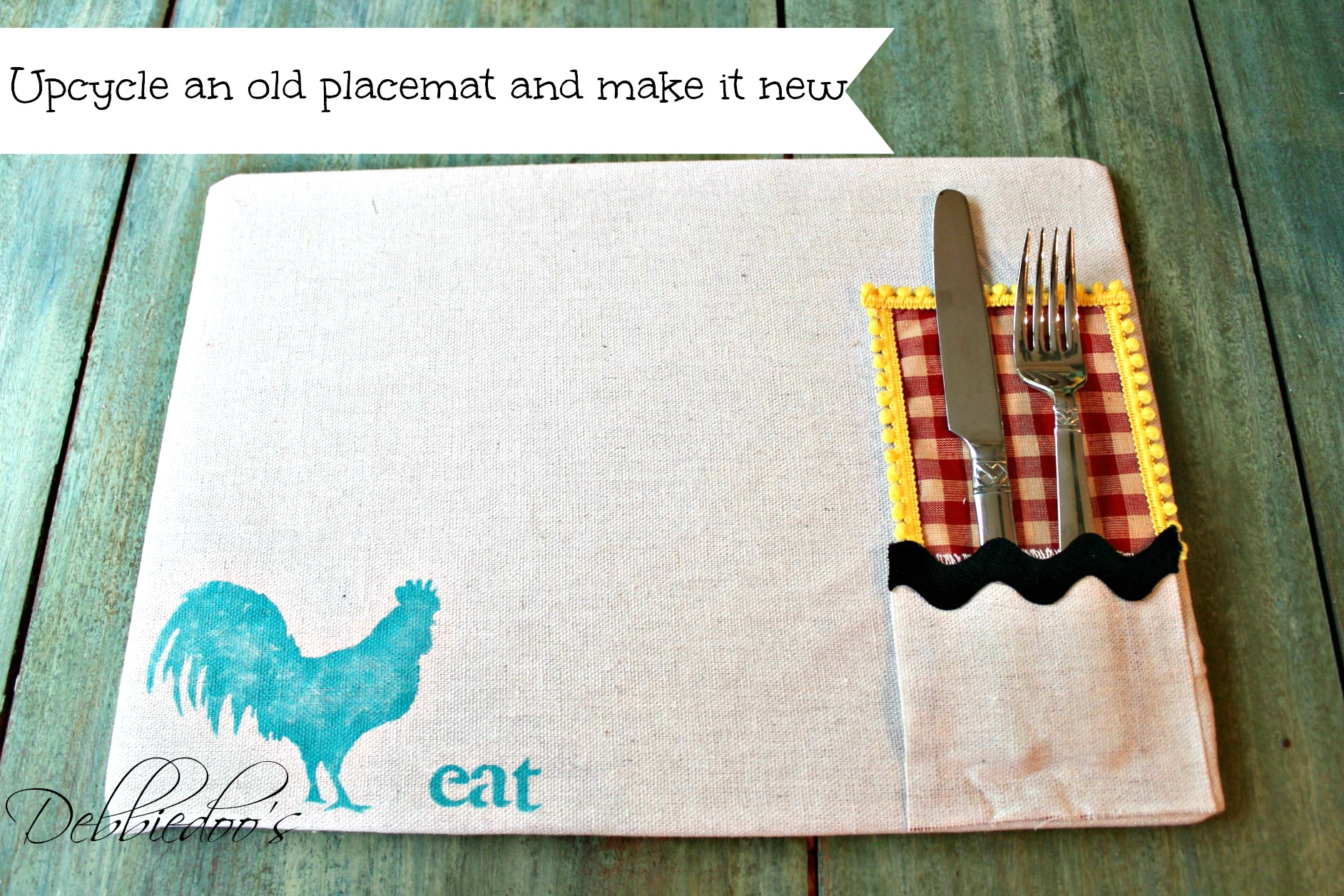 diy placemat and placeset holder 011