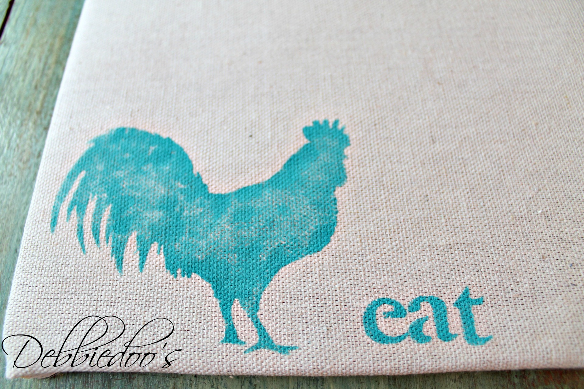 diy placemat and placeset holder