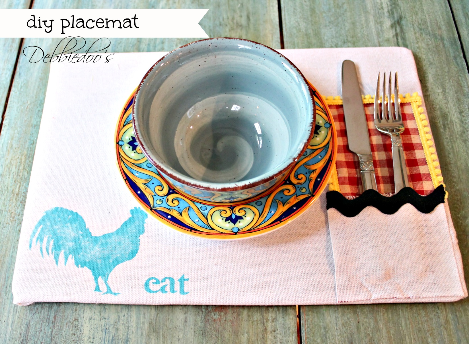 diy-placemat-and-placeset-holder-021 Diy projects out of drop cloths