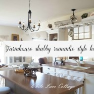 Farmhouse shabby Romantic style home tour