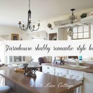 Farmhouse shabby Romantic style home tour