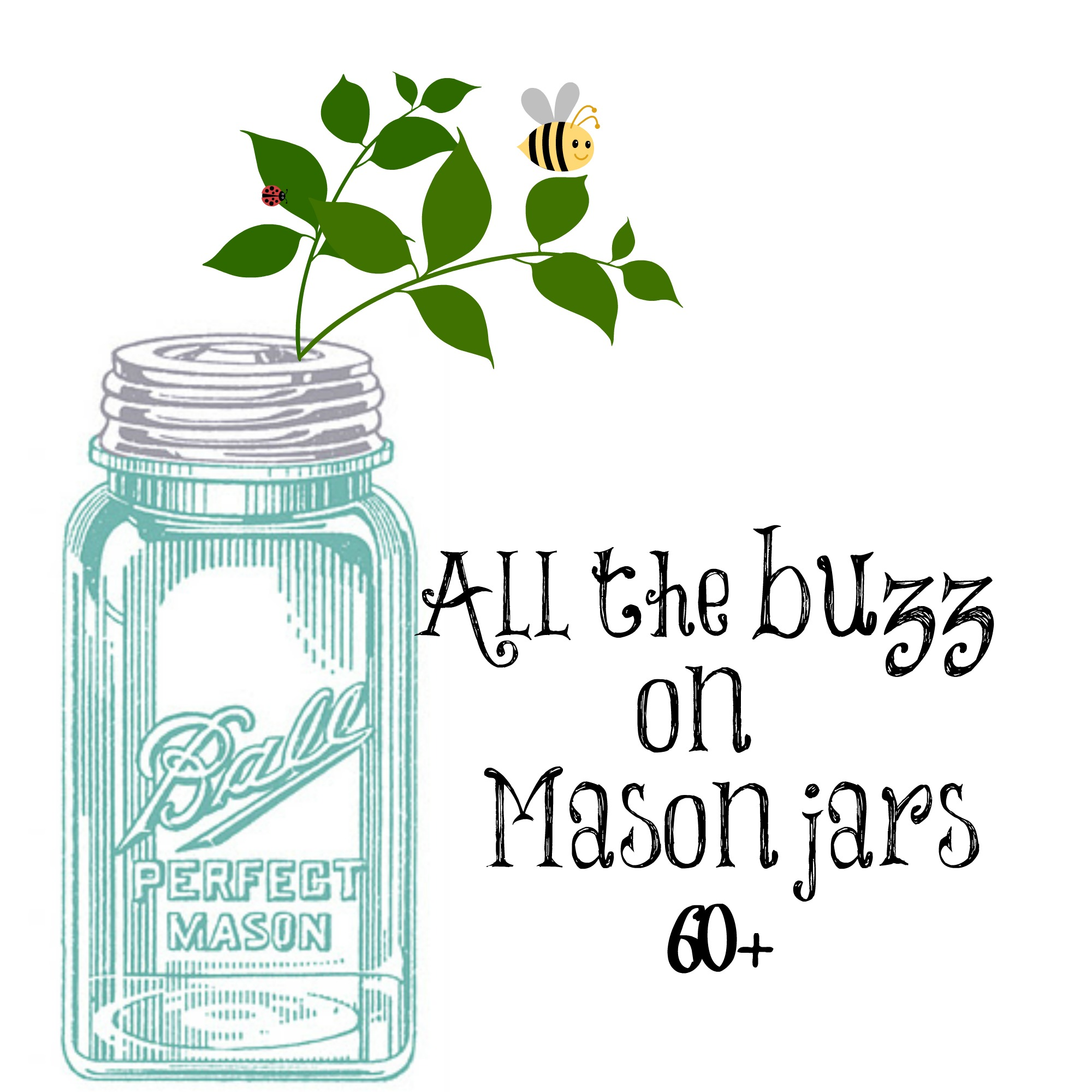 All things mason jars debbiedoos for Cool things to do with mason jars
