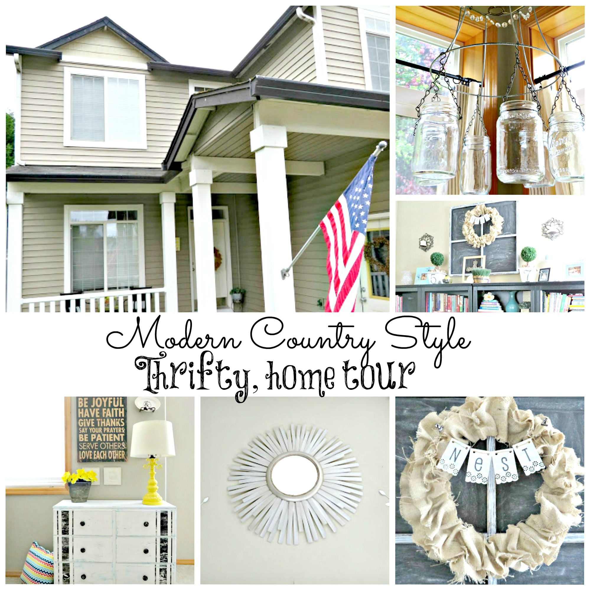 Modern Country Home Tour Debbiedoos