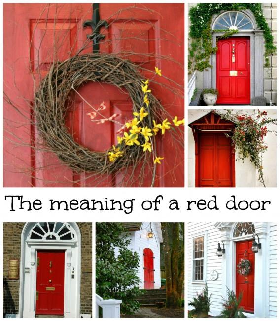 What Does Having A Red Door Mean Debbiedoo 39 S