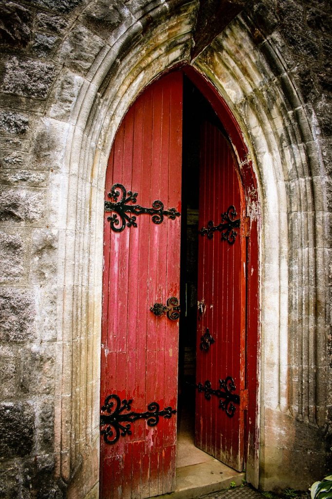 Meaning of a red door
