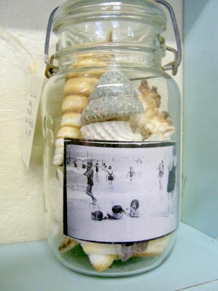 coastal mason jar