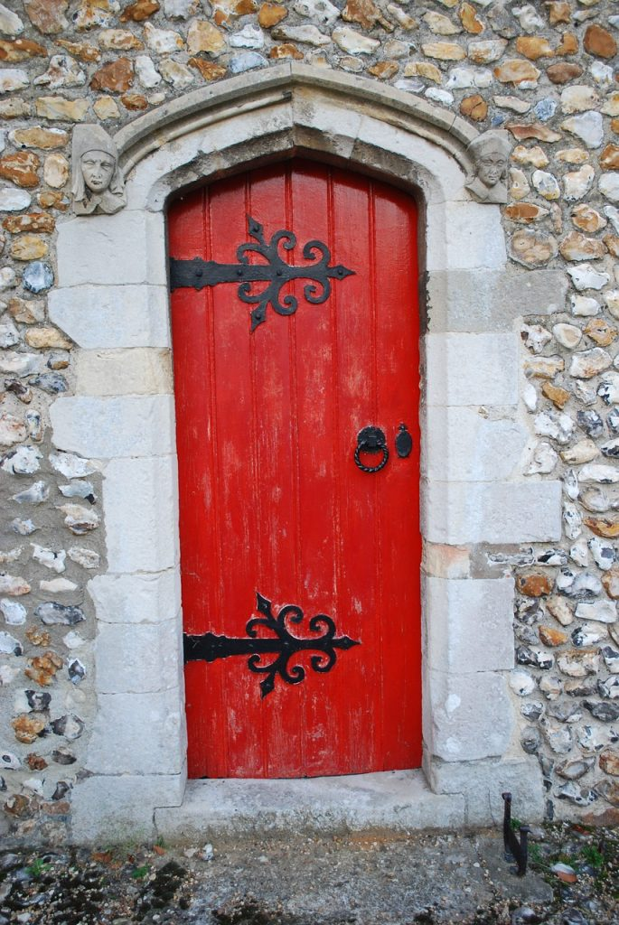 Meaning and significance of a red door