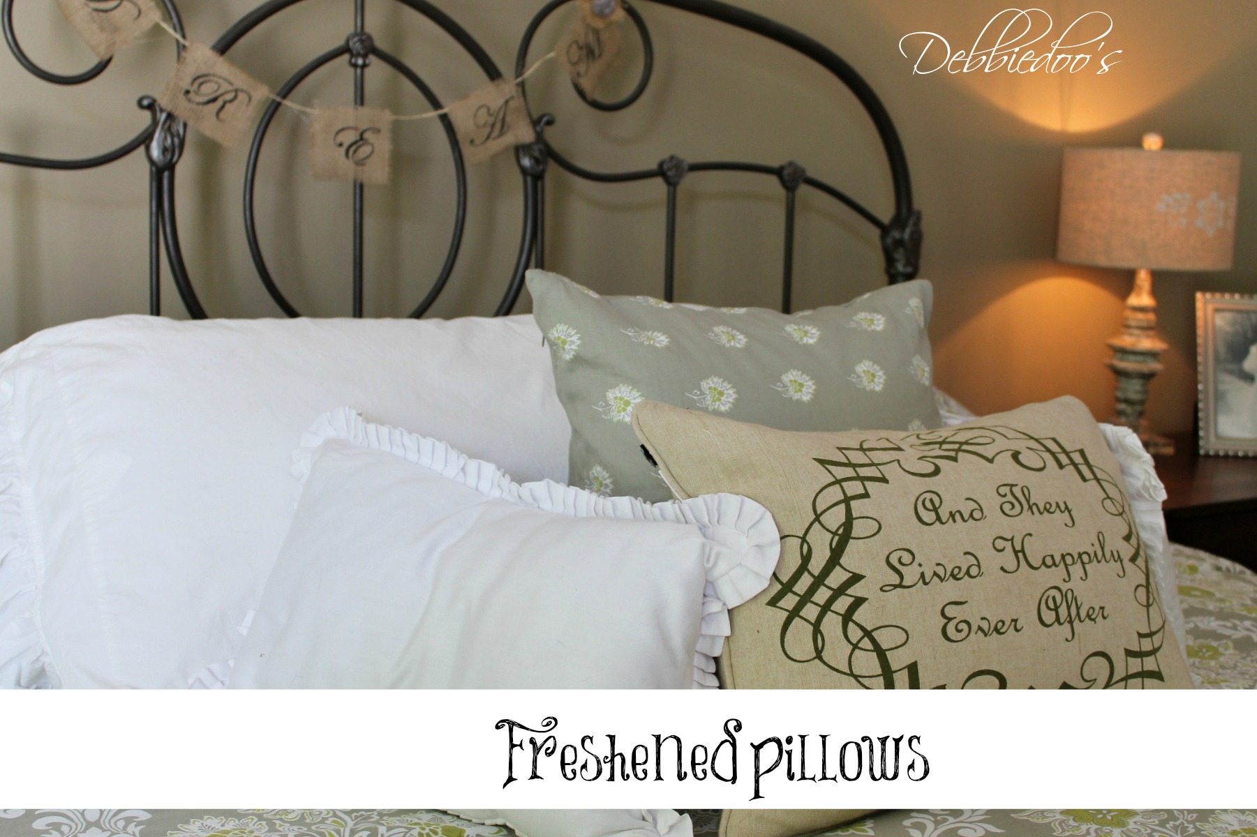 freshened pillows