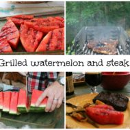 How to grill a watermelon
