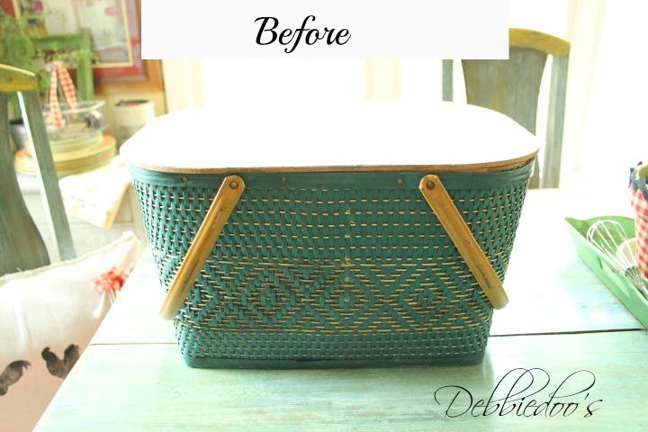 house, picnic basket 036