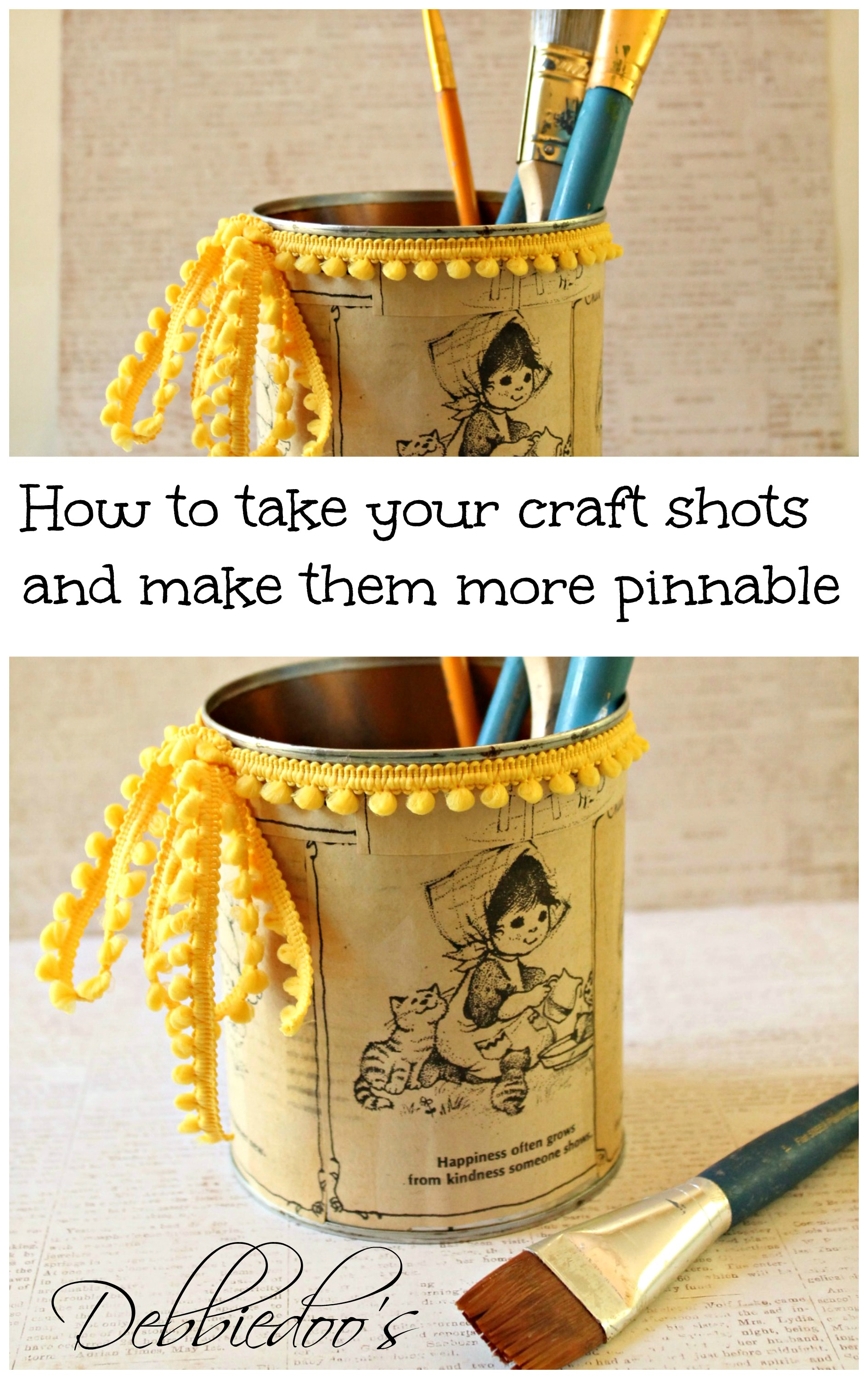 How to edit your craft projects and make them pinnable on for Make it take it crafts