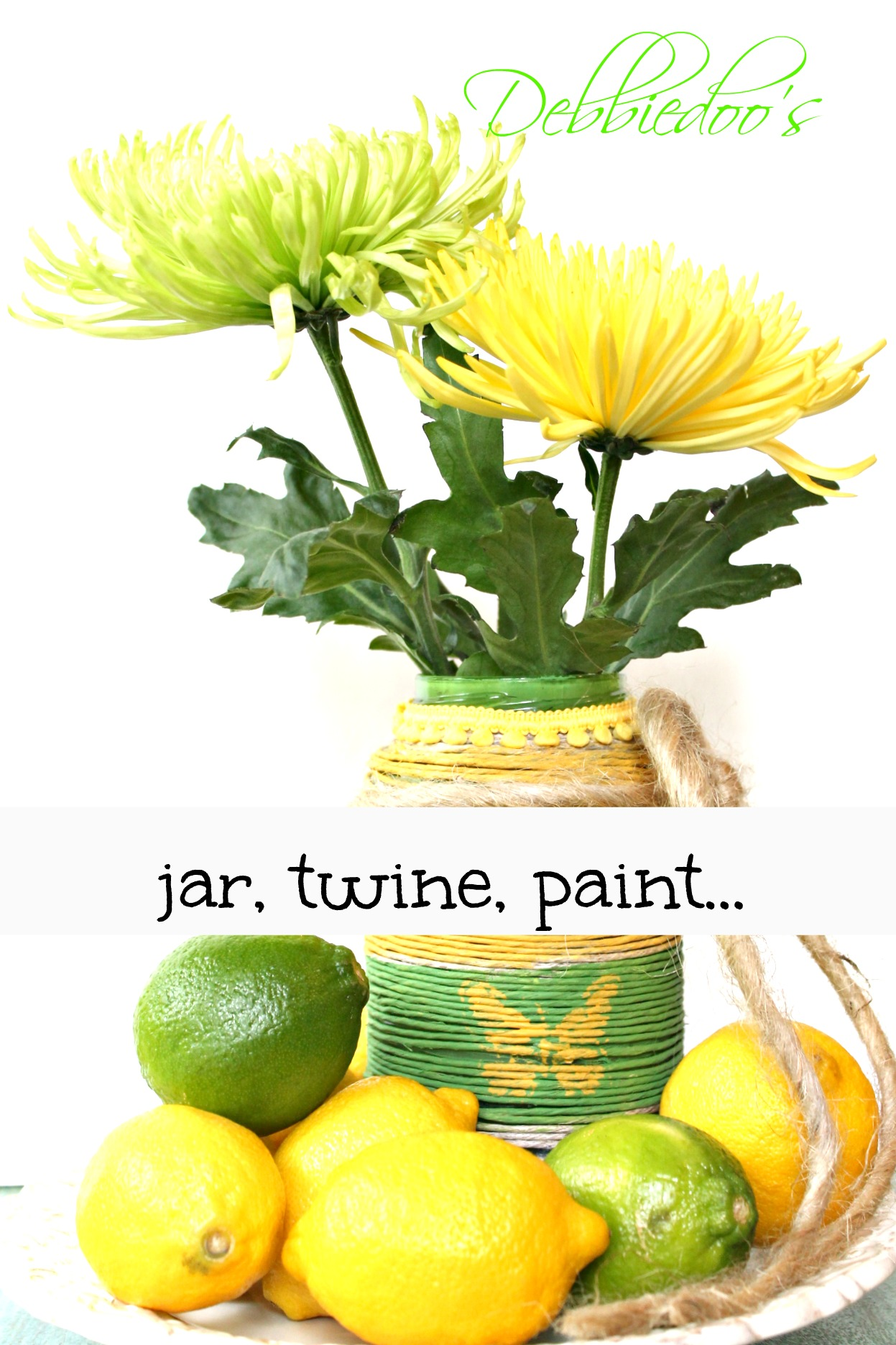 recycled jar craft