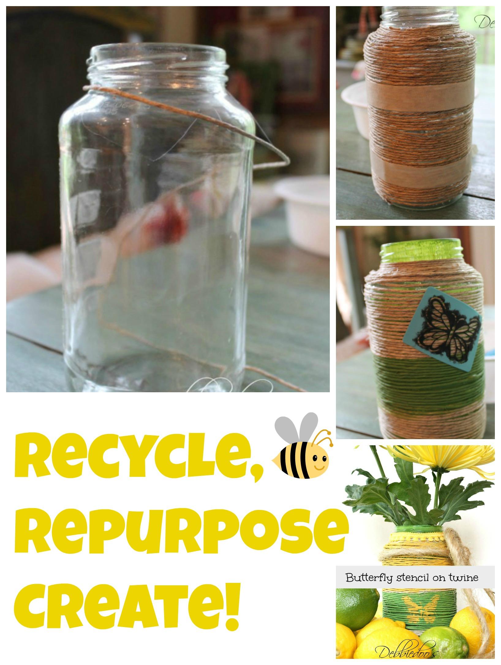#recycle,#repurpose, create