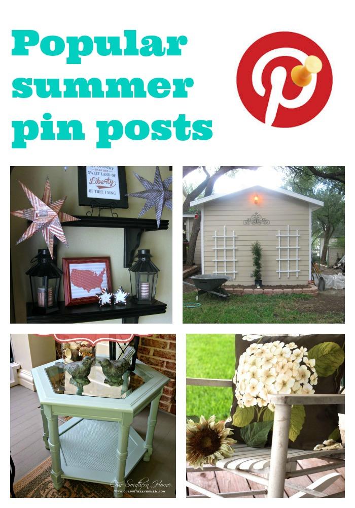 Summer popular pins