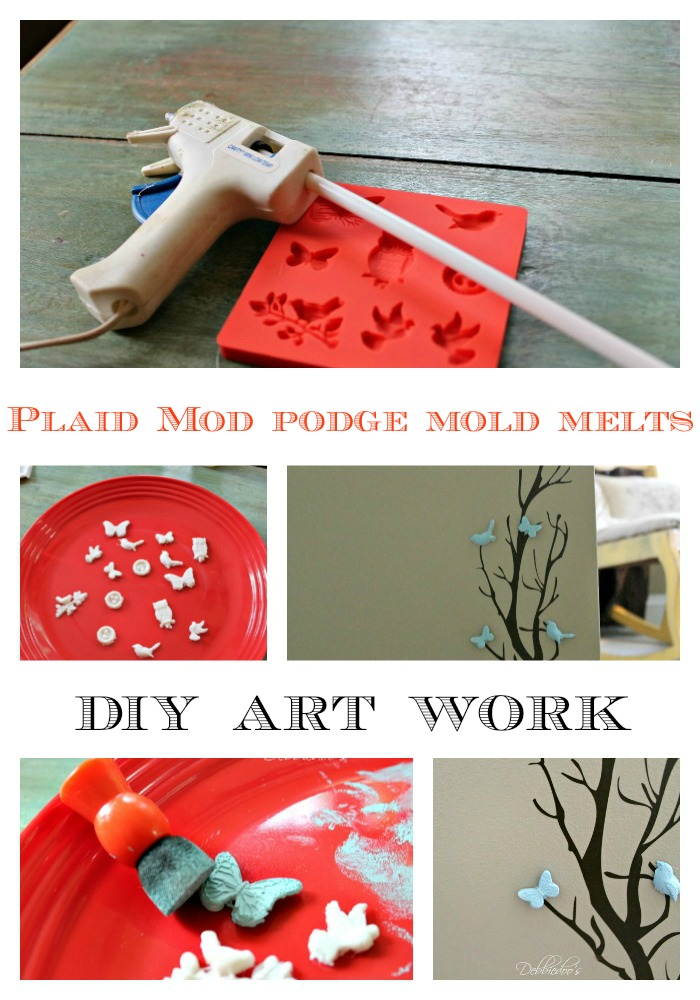 mod podge mold melts