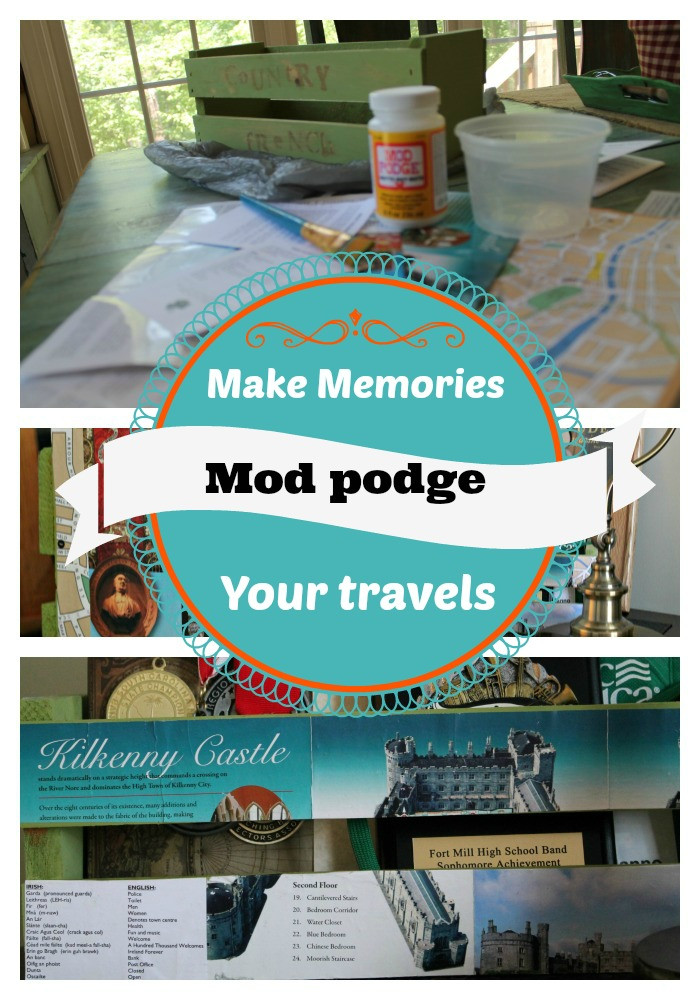 mod podge your travels