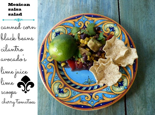 salsa-mexican-salad-for-summer-parties