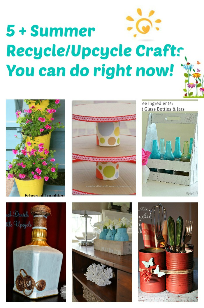 6 Summer recycle repurpose ideas you can do right now
