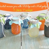 7-Jars-7-ways-painted-with-Rit-dye-and-Mod-podge1