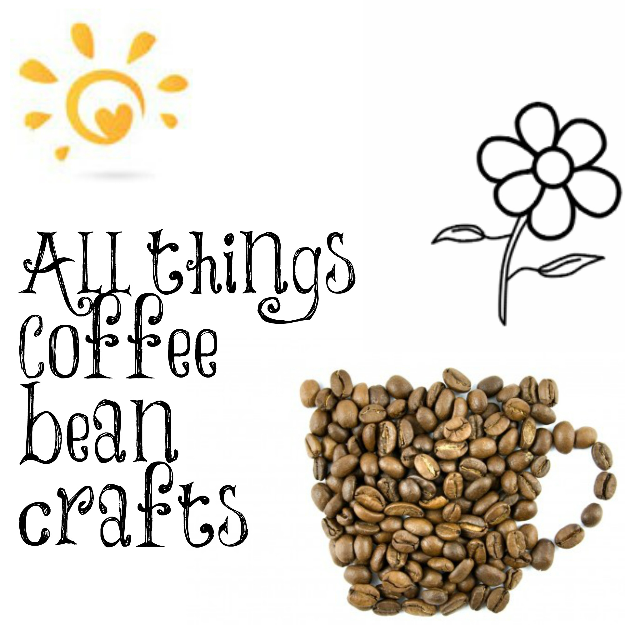All things coffee bean crafts