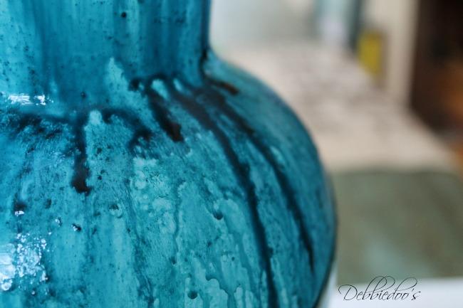 Coastal rit dye vase 006