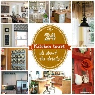 24 Kitchen tours all about the details, every size, shape and color