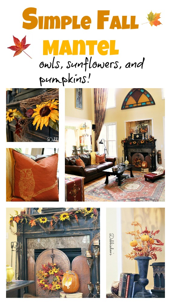 Fall decorating for 2013
