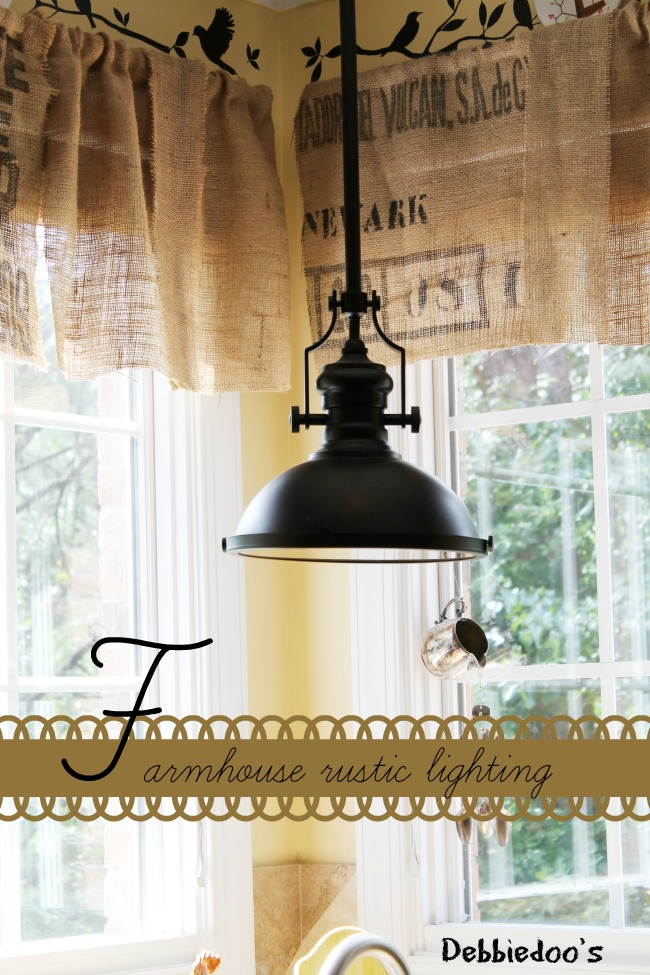 Farmhouse rustic light