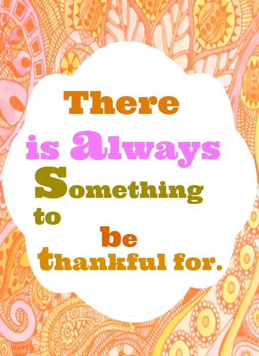 Happy to be thankful free printable