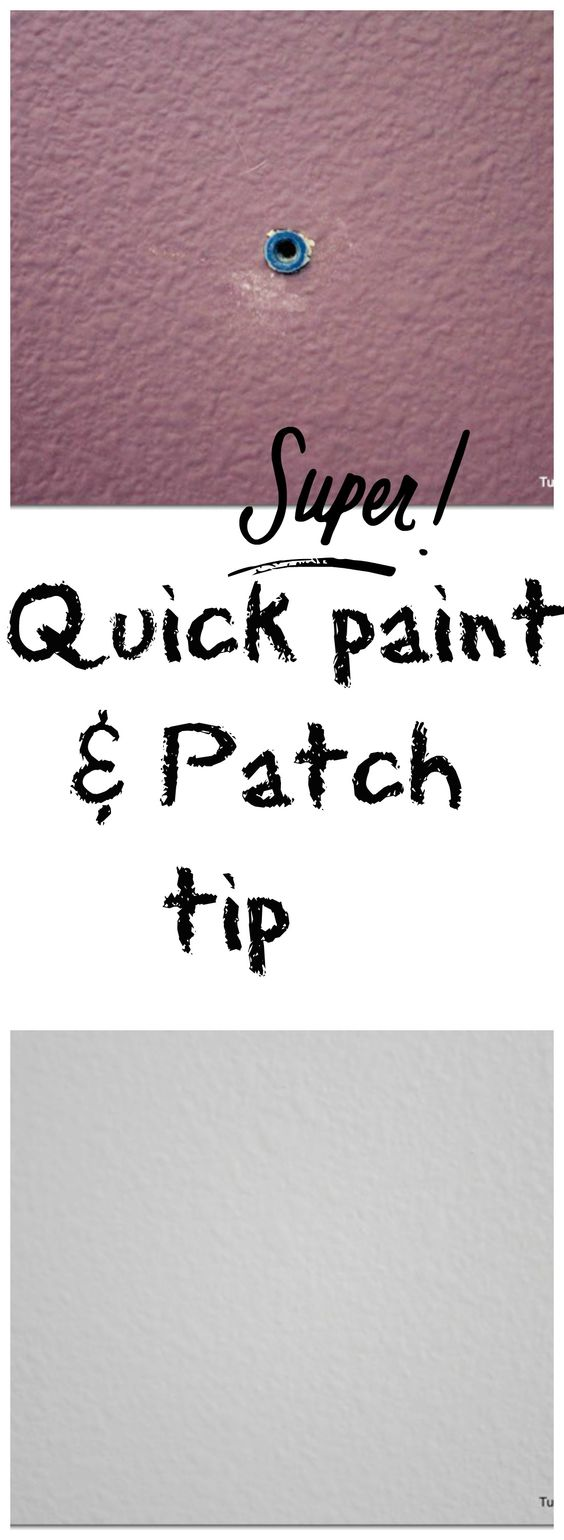 How to patch a wall