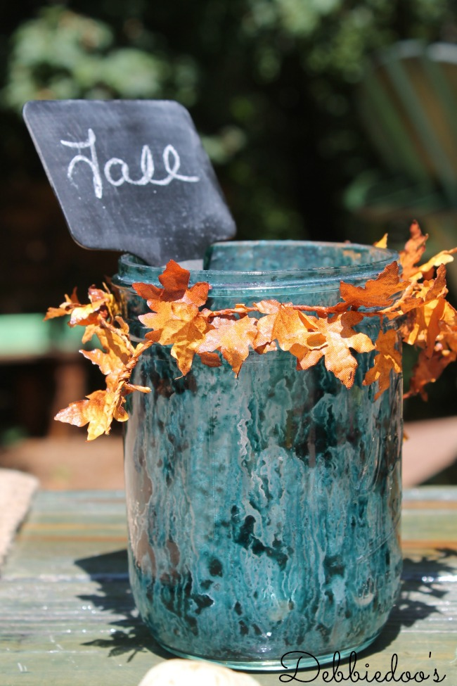 Rit dye tablescape royal blue