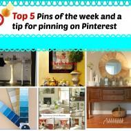 Top 5 pins of the week #10