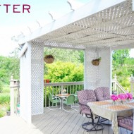 porch after diy deck porch ideas makeover amy renea a nest for all seasons