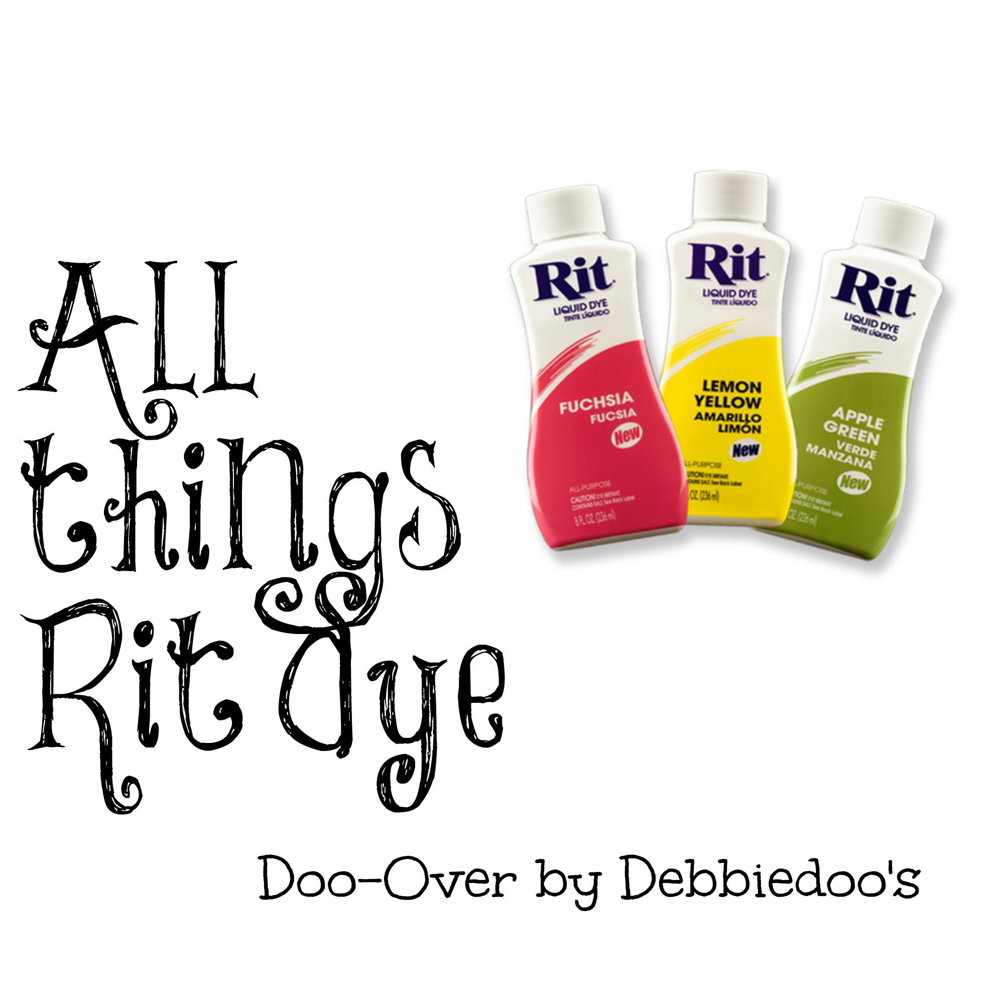 All things Rit Dye