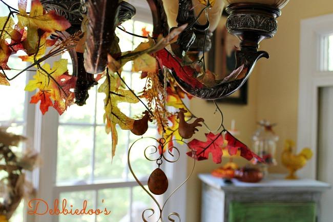 Fall kitchen decor 002