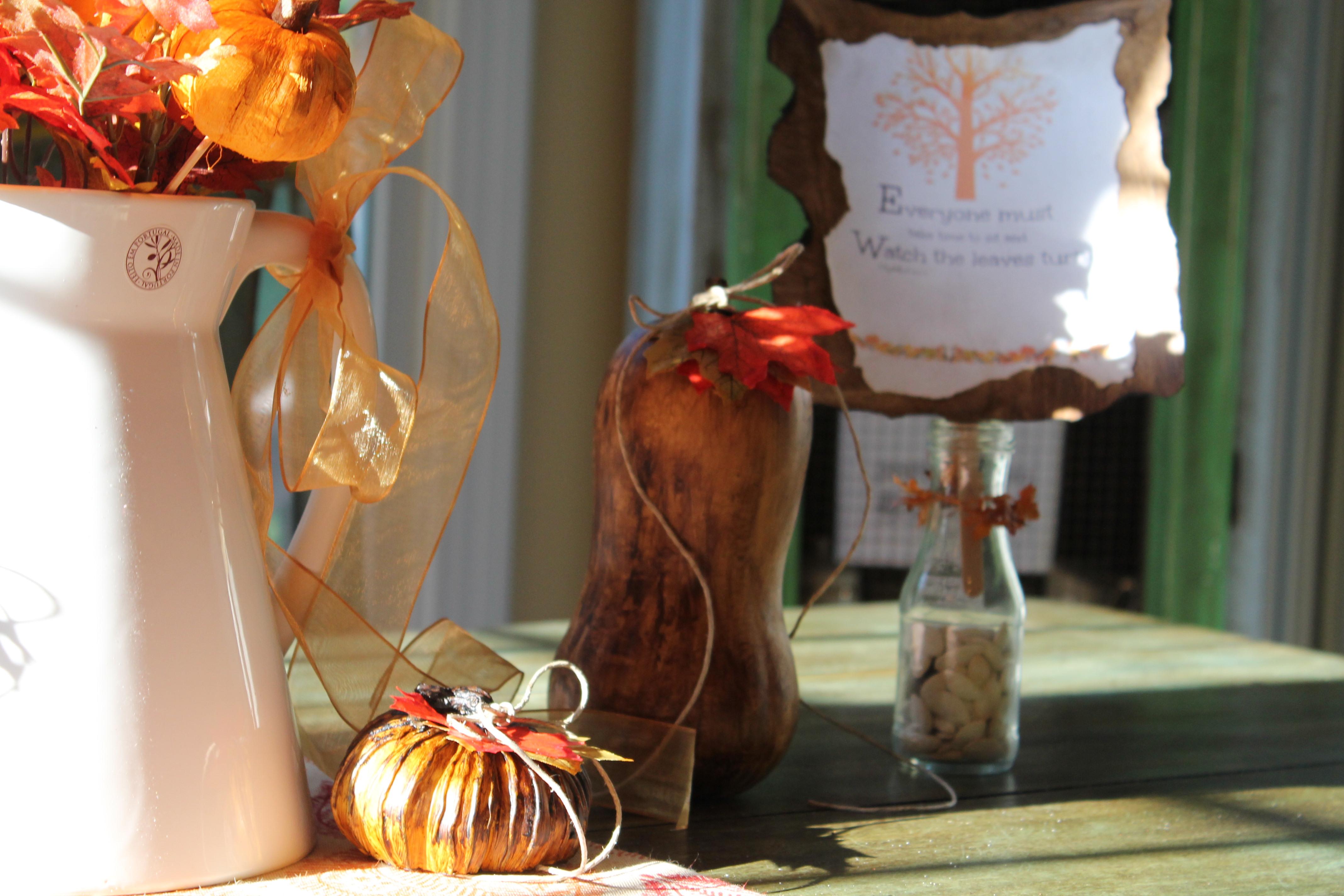 Fall kitchen decor 030