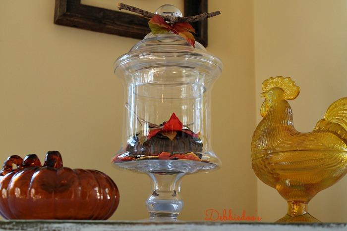 Fall kitchen decor 036