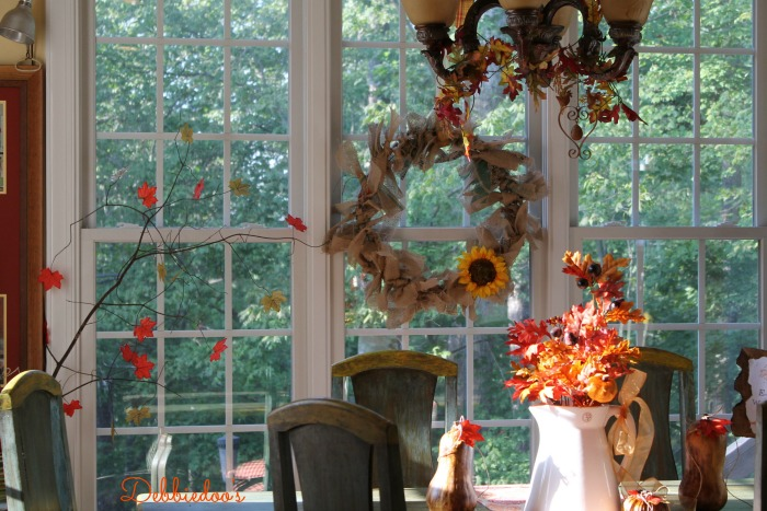 Fall kitchen decor 041