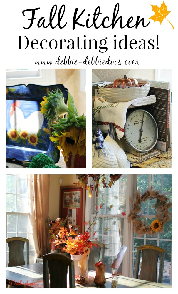 Fall kitchen decorating