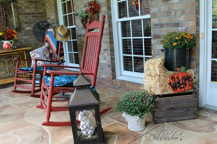Fall porch in the Carolinas