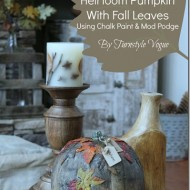Faux-Goosebump-Heirloom-Pumpkin-Using-Chalk-Paint-And-Mod-Podge-By-Turnstyle-Vogue_thumb